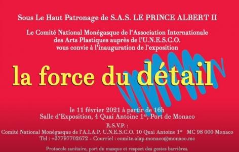 ~AIAP UNESCO Monaco~ La force du Détail