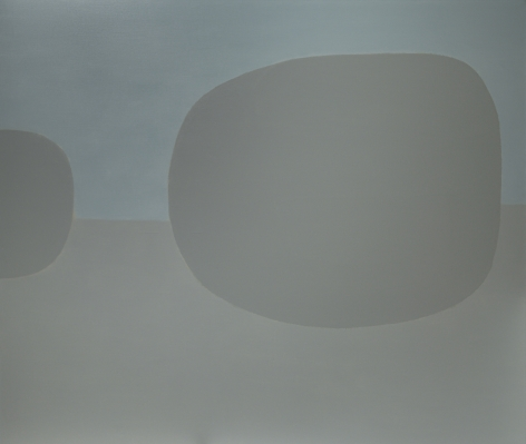 Untitled (Large Grays), 1971  Oil on canvas   66 x 78 inches