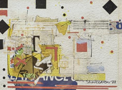 Sam Middleton, Quater Notes II, 1988