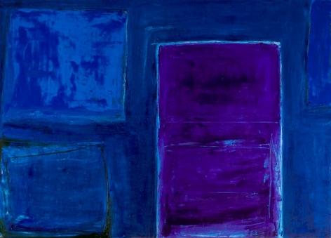 Indigo, 2014, Oil on canvas
