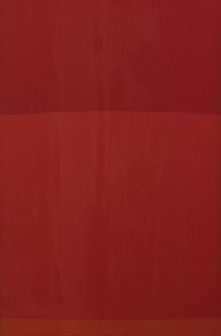 Felrath Hines, Red Painting, 1968