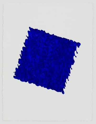 Louise P. Sloane, Golden Ultra Blue, 2019