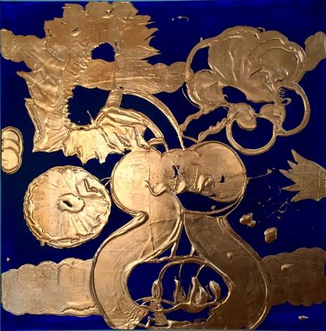 Copper Painting (Luminous Cobalt no.3)
