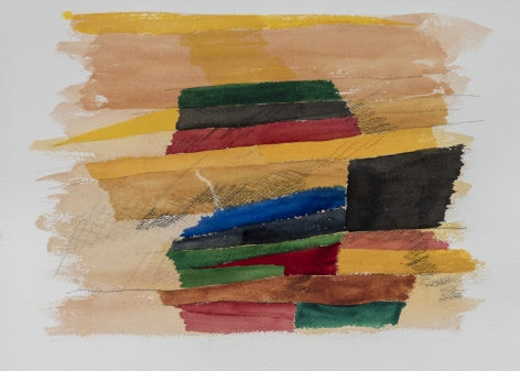Untitled,1980s, Watercolor on paper