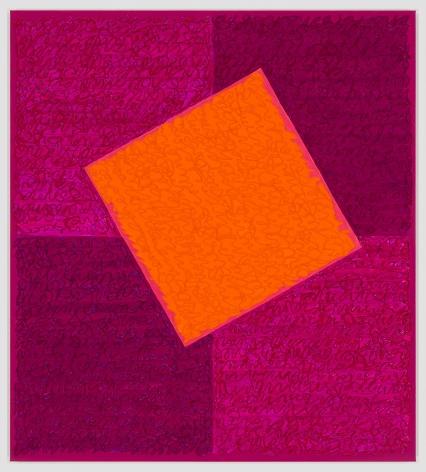 Louise P. Sloane, Orange Rising, 2019
