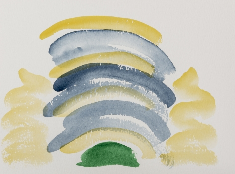 Untitled, 1980s   Watercolor on paper   9 x 12 inches