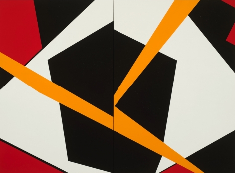 Felrath Hines   Storm, 1986   Oil on Canvas   40 x 54 Inches