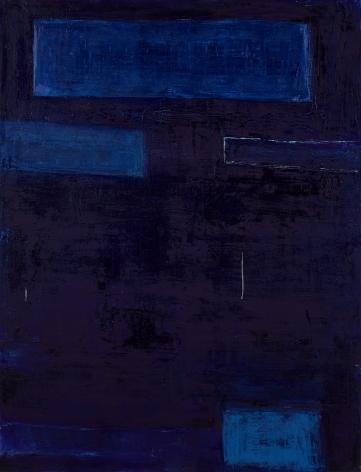 Always Blue,2016, Oil on canvas