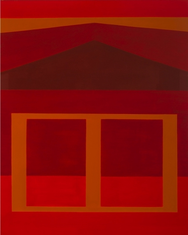 Western Landscape, AKA Red & Ochre, 1979   Oil on canvas   60 x 48 inches