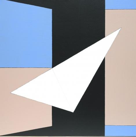 Tropic Night, 1989  Oil on canvas   26 x 26 inches