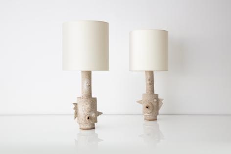 Carlos Otero, Lamp, Lighting, Ceramics, Hostler Burrows, Art, Design
