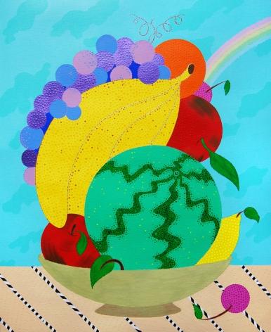 Eric Hibit, Fruit Bowl Abundance, 2015
