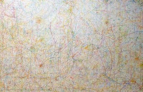 Kysa Johnson, blow up 184 - subatomic decay patterns  (2013)