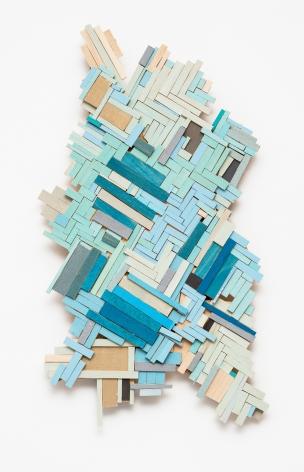 Ruby Palmer, Blue Floor, 2018