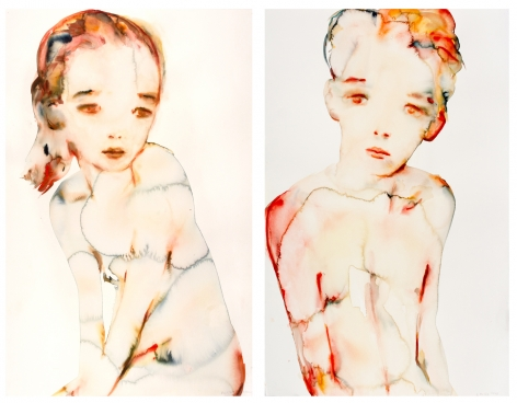 Kim McCarty, Untitled, 2007 (diptych)
