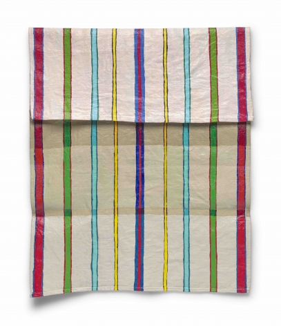 Carly Glovinski, Stripy Towel, 2017