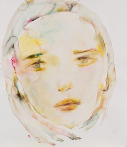 Kim McCarty, Untitled (Yellow-Orange), 2015