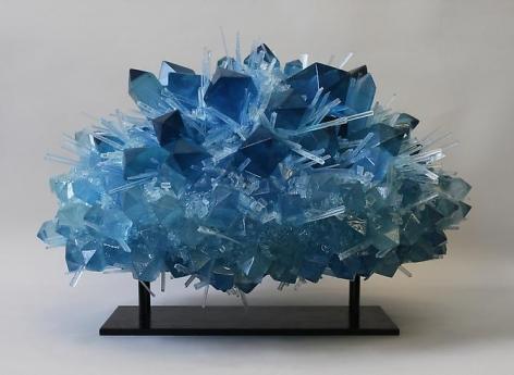 Carson Fox, Blue Crystal Explosion (2013)