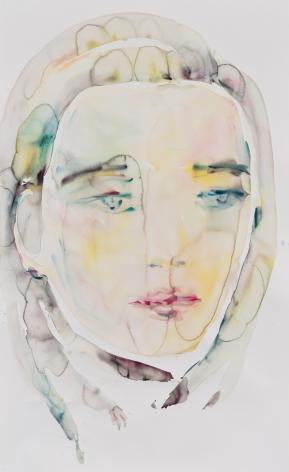 Kim McCarty, Untitled (Blue-Gray), 2015