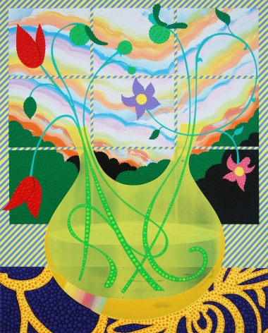 Eric Hibit, Yellow Bud Vase, 2020