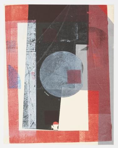 Austin Thomas, Red Frame Symmetry, 2019