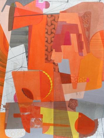 Aaron Wexler, Orange Machine, 2016