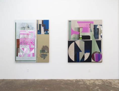 Rubens Ghenov, Aft Key, (installation view)