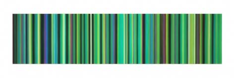 Tim Bavington, Green (onions), 2017