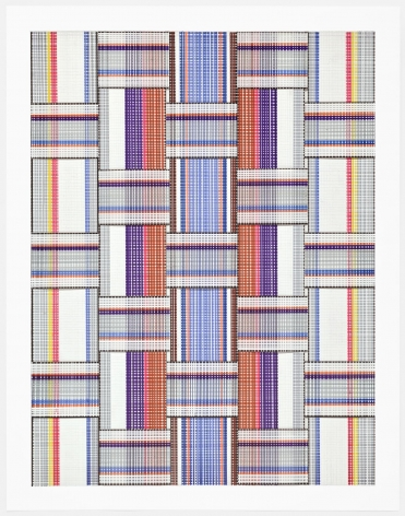 Carly Glovinski, Leisure Weave 5, 2017