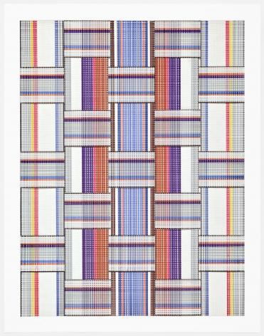 Carly Glovinski, Leisure Weave 5, 2017
