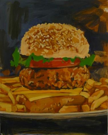 Walter Robinson, Amazon Cheeseburger, 2015