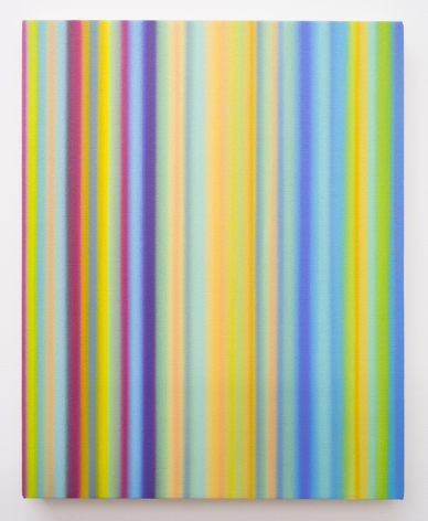 Tim Bavington, Costello Painting (Hidden Charms) Pt. 2, 2019