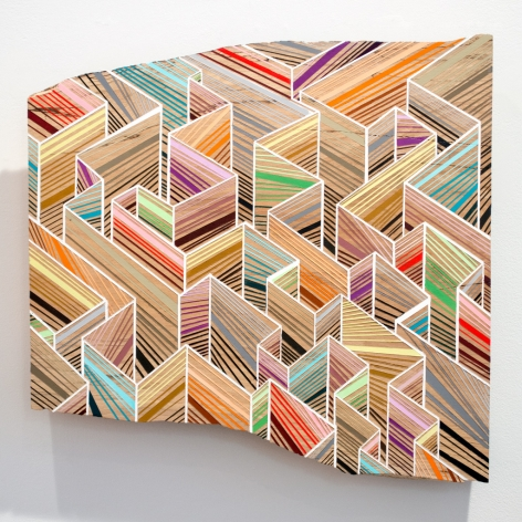 Jason Middlebrook, Wall Space, 2014