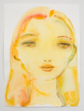 Kim McCarty, Untitled (Yellow Girl), 2020