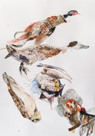 Emilie Clark, Untitled (T-18), from Meditations on Hunting, 2015