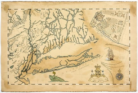 Frohawk Two Feathers, Map of the Ferdinandian Kingdom of New Holland (2014)