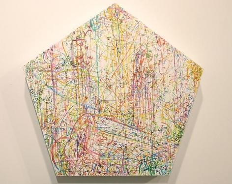 Kysa Johnson, blow up 196 - subatomic decay patterns after Piranesi's Triumphal Arch (2013)