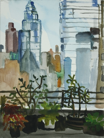Daniel Heidkamp, The View From Erika's Office in Midtown, 2013
