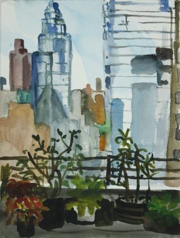 Daniel Heidkamp, The View From Erika's Office in Midtown, 2013