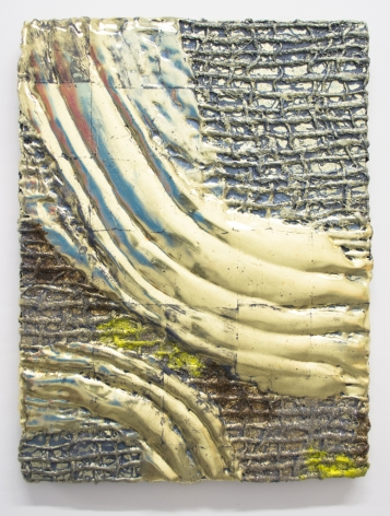 Nancy Lorenz, Lemon Gold Relief, 2015