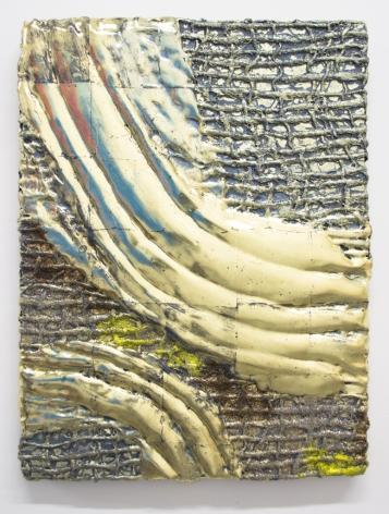 Nancy Lorenz, Lemon Gold Relief, 2015