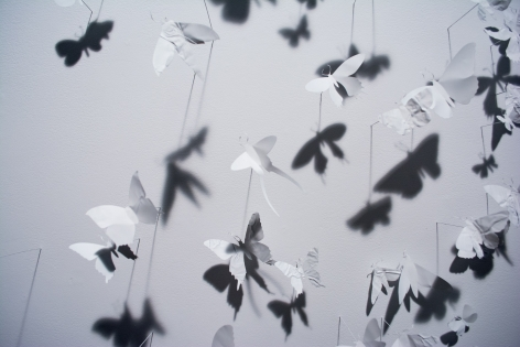 Paul Villinski, Ghost, detail, 2014
