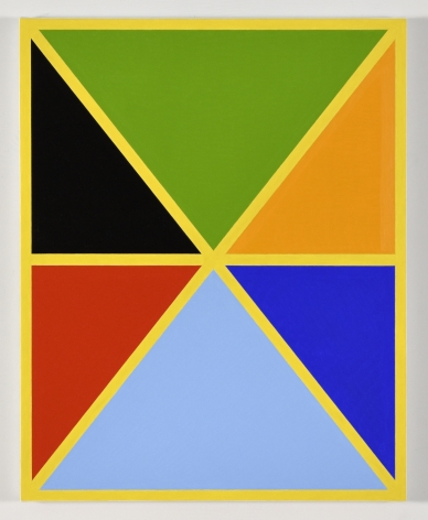 Cary Smith, Diagonals (with 7 colors) 1, 2017