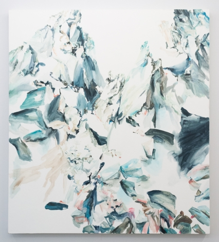 Elisa Johns  Keyhole Pass, 2017  Oil on canvas  78h x 70w in