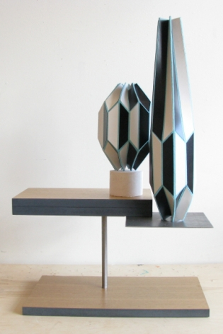 Sarah Bednarek, Two Vases and a Magazine, 2013
