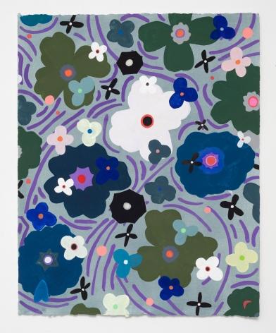 Ruby Palmer, Flower Series: Swirl, 2020