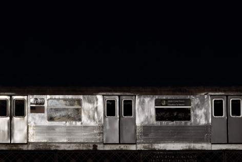 David S. Allee, 4:02pm, J Train, 2010