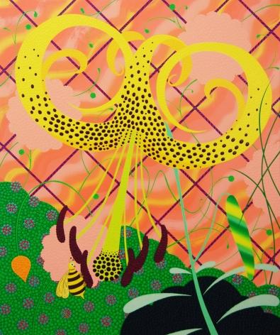 Eric Hibit, Yellow Tiger Lily, 2020
