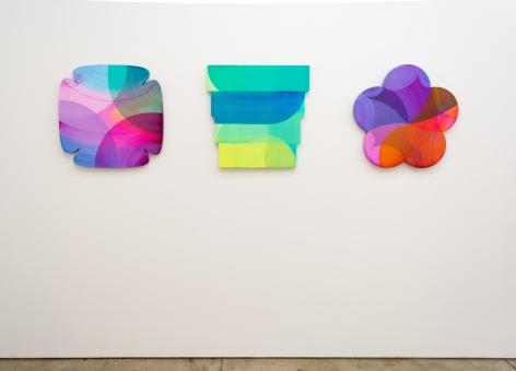 Emily Kiacz: Shape of Light, 2021, (installation view)