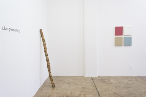 Living/Breathing, 2018, (installation view)